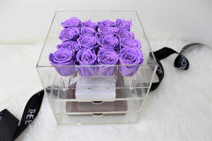 Crystal Collection | Sweet Sixteen Rose Box