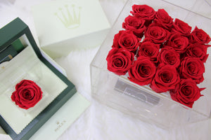 Glam Eternity Rose Box