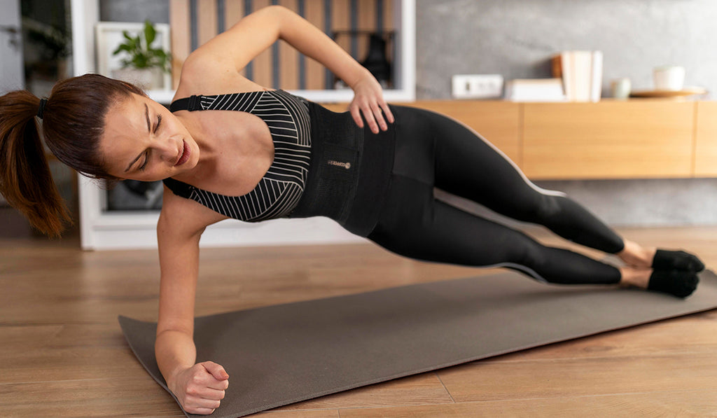 Side Plank and Oblique Twist