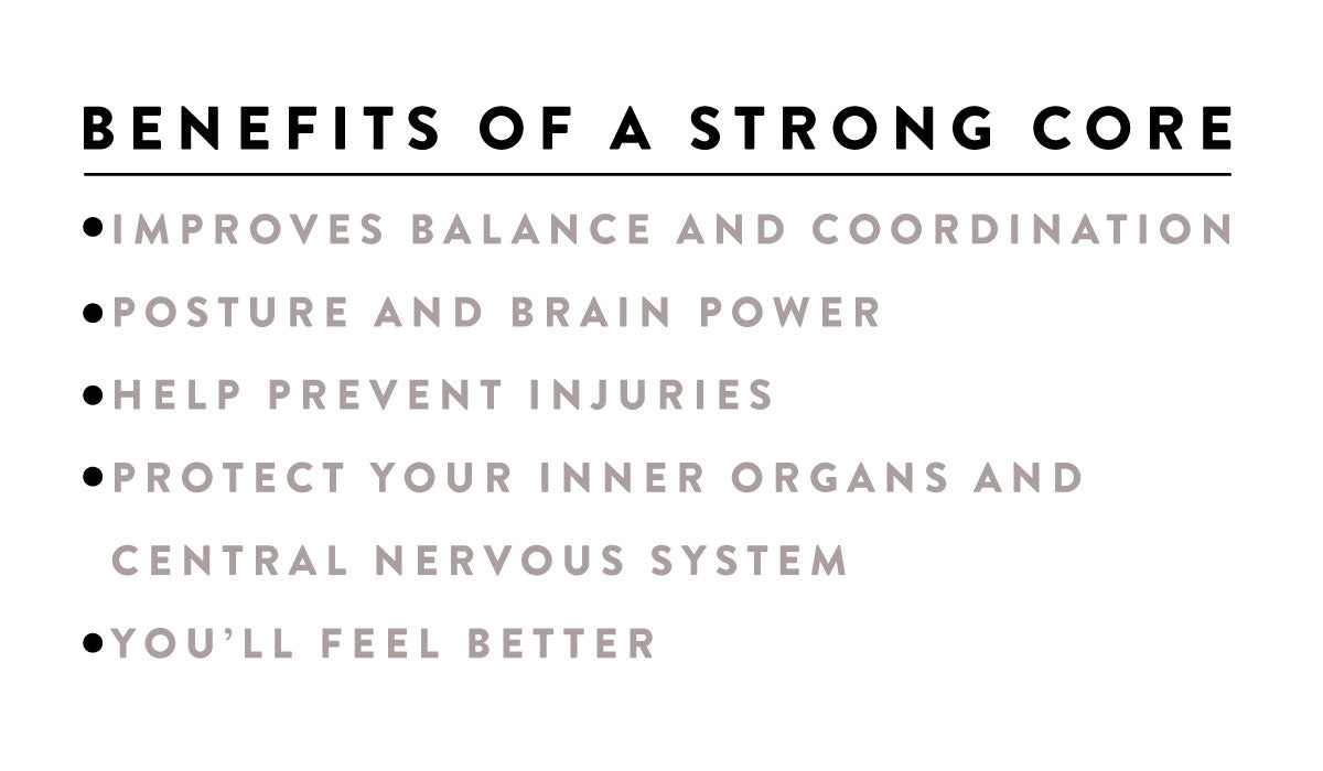 benefits of strong core women