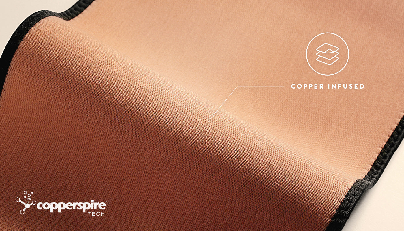Copperspire™ technology infuses Copper ions with Thermal technology