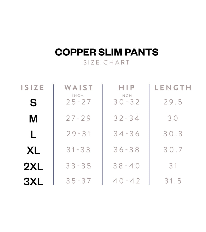 Copper Slim - Copper Slim Pants