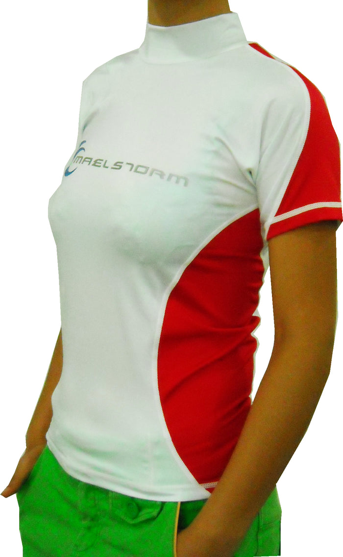 Short-sleeve Ladies Rashguard