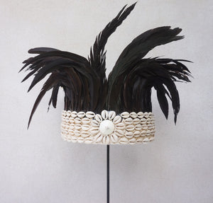 Feather Crown Black