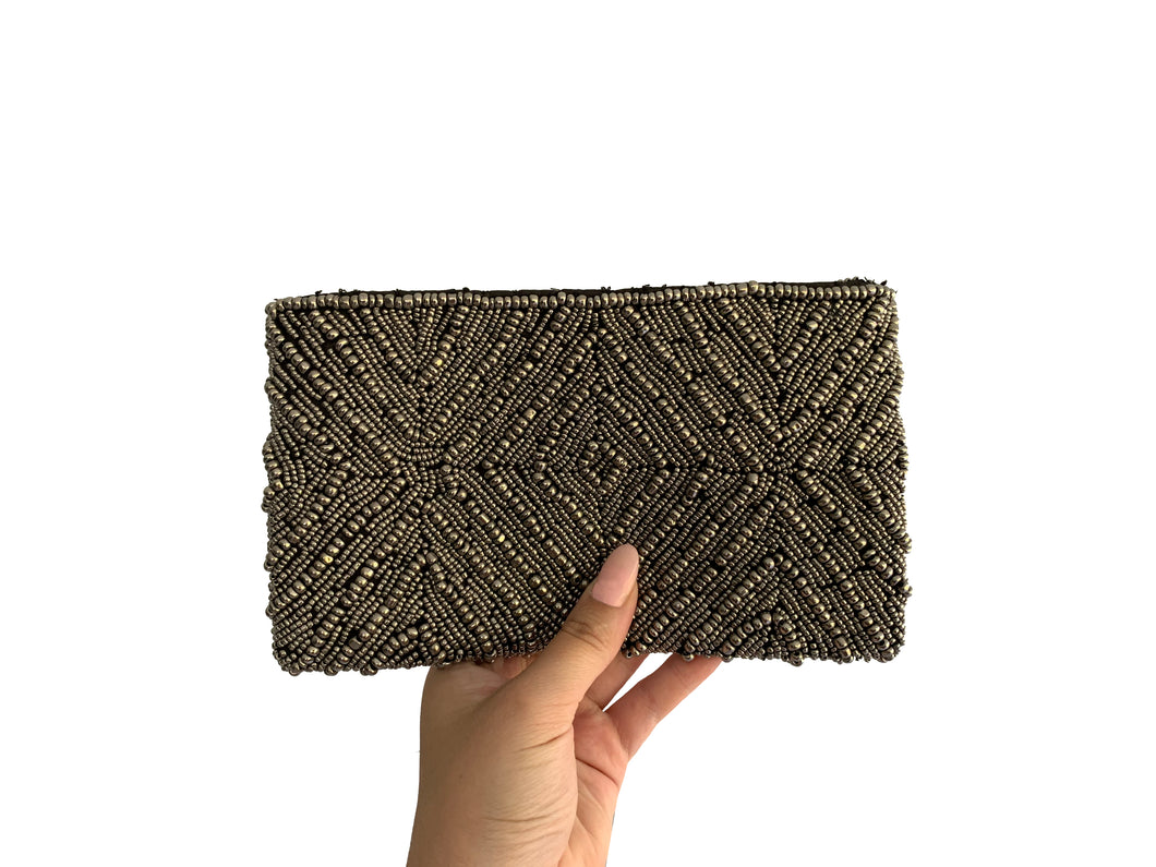 Beaded Clutch Puta Diamond Small