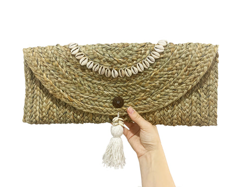 Sea Grass Clutch