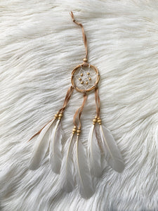 DREAM CATCHER BAMBOO BEADED MINI