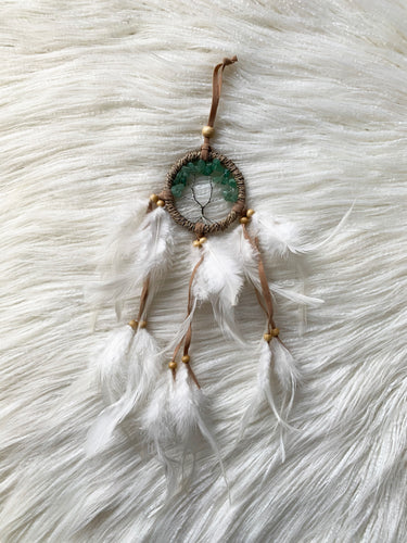 DREAM CATCHER TREE OF LIFE JADE CRYSTAL