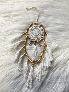 Dream Catcher Tassels + Shells