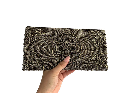 Beaded Clutch Puta Circle Medium