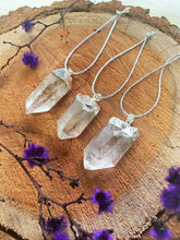 Clear Quartz Christmas Ornaments Pack of 3