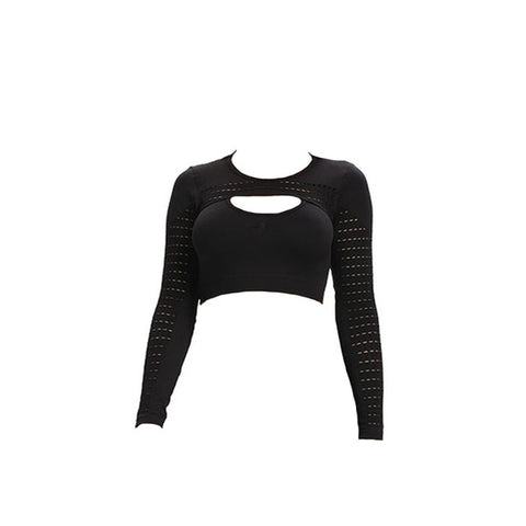 Ion Seamless Crop Top