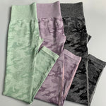 Thrive Camo Seamless Leggings
