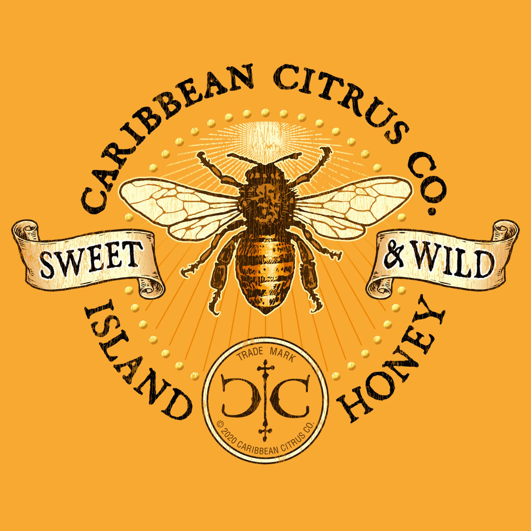 Island Honey T Shirt Design | Sweet and Wild