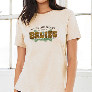 Going to Belize T Shirt Mayan Stone Carving