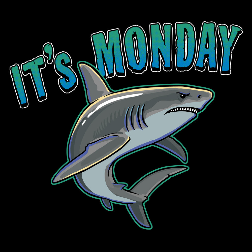 It's Monday! Great White Shark T-Shirt