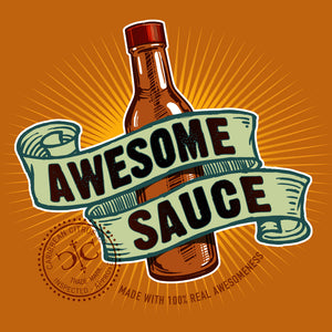 Awesome Sauce T Shirt Design