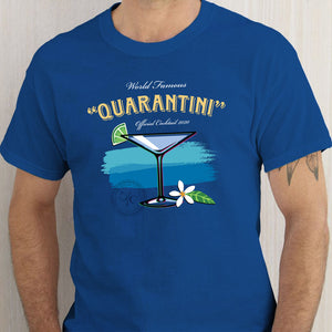Quarantini Cocktail T Shirt
