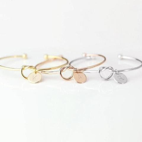 A-Z Initial Bracelet - Han and Co. Jewelry