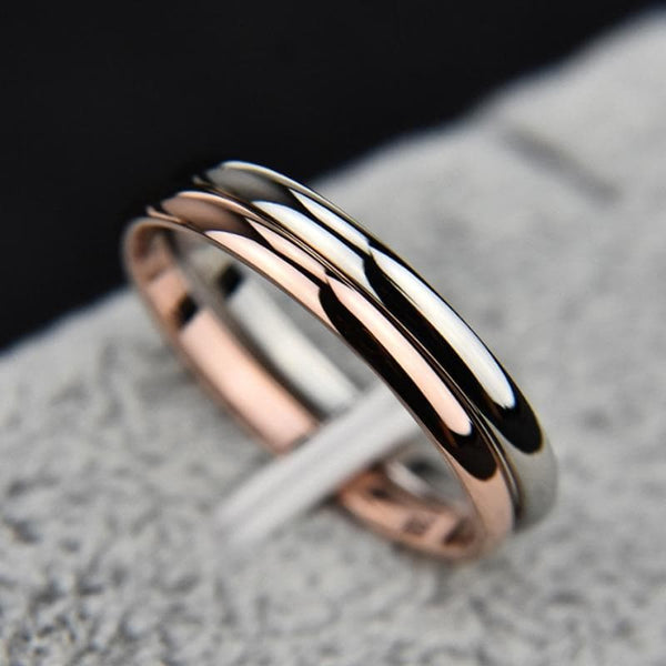 Semplice Couple Ring - Han and Co. Jewelry