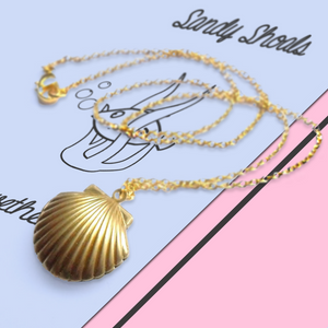 Seashell Locket