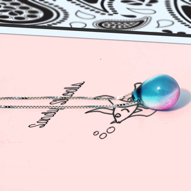 Mermaid Tear Necklace