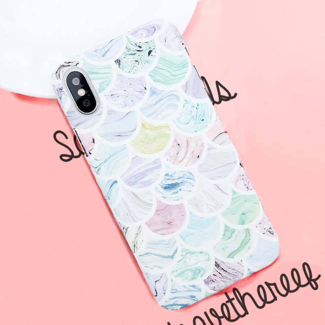 Light Mermaid Scale - iPhone Case