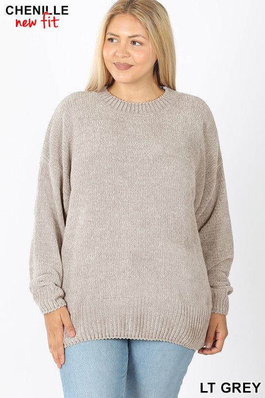 Plus Chenille Sweater