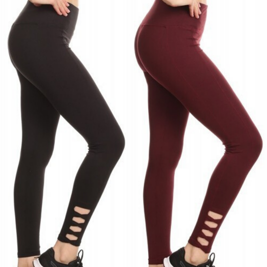 High Waist Solid Yoga Leggings