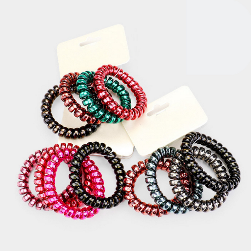 Colorful Cord Hair Ties