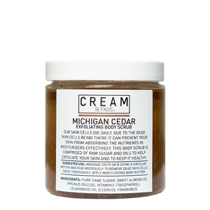 Cream Blends Michigan Cedar Body Scrub