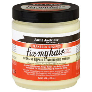 Aunt Jackie's Fix My Hair Intensive Repair Conditioning Masque
