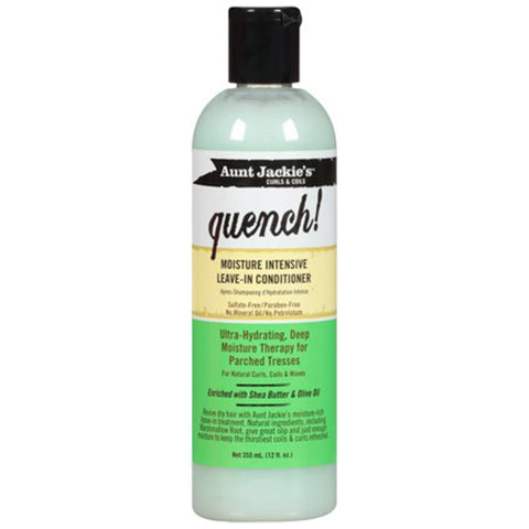 Aunt Jackie's Quench Moisture Intensive Leave-In Conditioner 8 oz