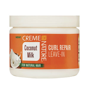 Creme of Nature Coconut Milk Curl Repair Leave-In