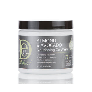 Design Essentials Almond and Avocado Nourishing Co-wash