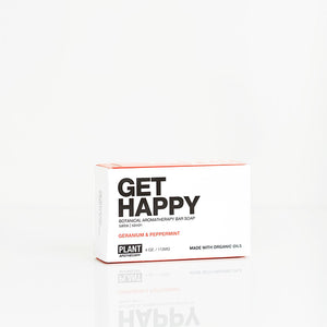Plant Apothecary Get Happy Aromatherapy Bar Soap