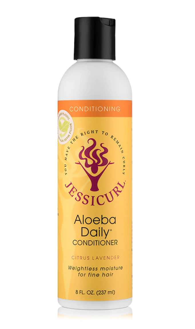 Jessicurl Aloeba Daily Conditioner - Citrus Lavender (8 oz.)