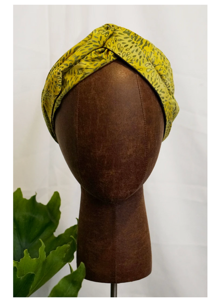 Ankara Crowns MARGARITA Satin Lined Headband