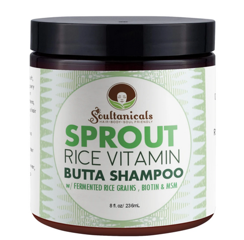 Soultanicals Sprout Rice Vitamin Butta Shampoo