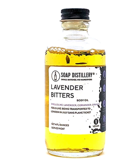 Soap Distillery Lavender Bitters Body Oil