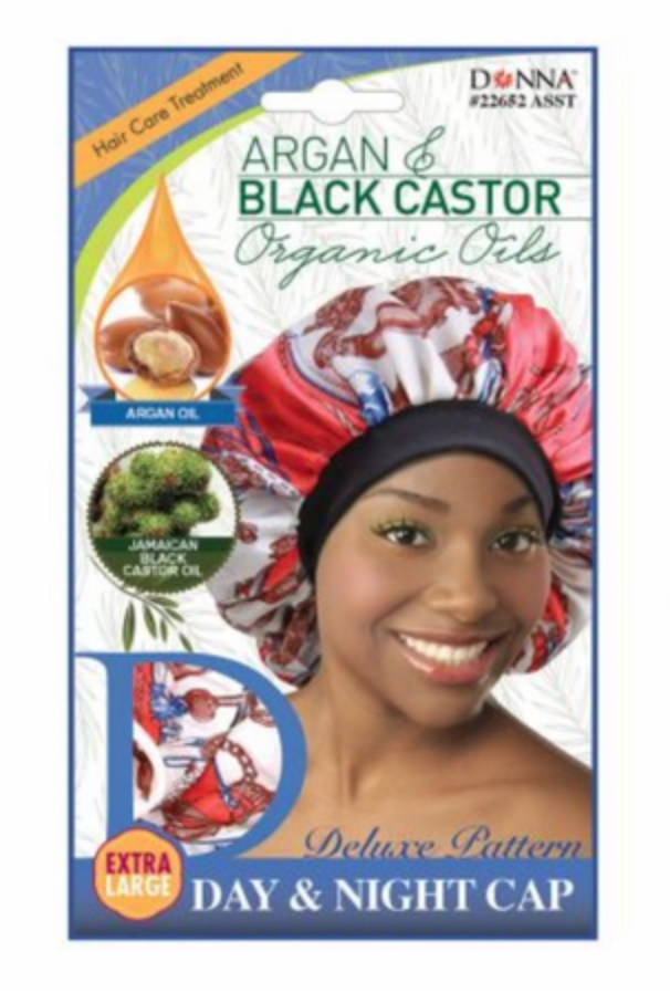 Donna Argan Black Castor Day & Night Cap