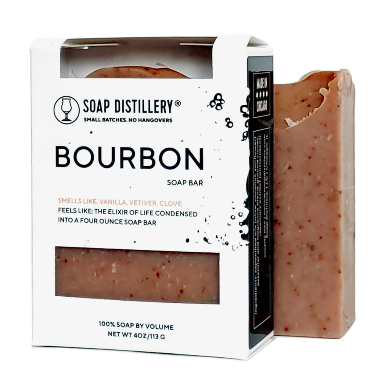 Soap Distillery Bourbon Soap Bar