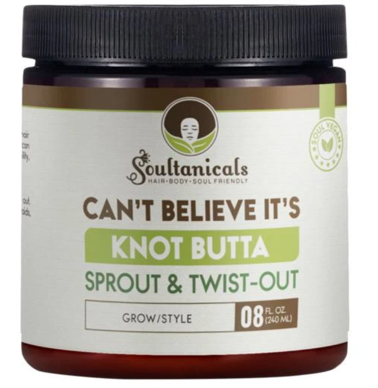 Soultanicals Can't Believe its Knot Butta Sprout and Twist-out