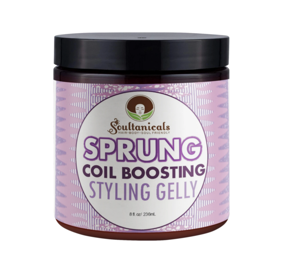 Soultanicals Sprung Coil Boosting Styling Gelly