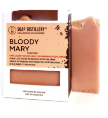 Soap Distillery Bloody Mary Soap Bar