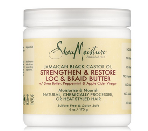 SheaMoisture Jamaican Black Castor Oil Strengthen & Grow Loc & Braid Butter