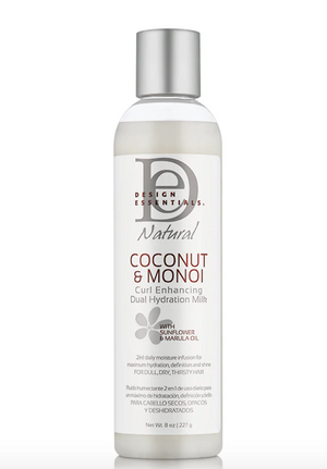 Design Essentials Coconut & Monoi Curl Enhancing Dual Hydration Milk