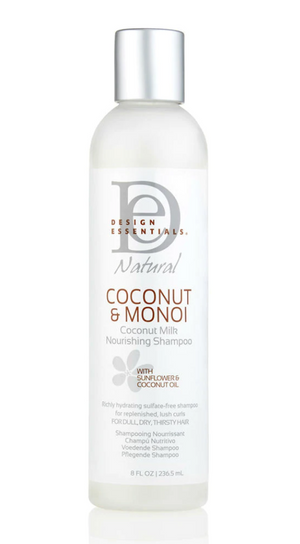 Design Essentials Natural Coconut & Monoi Nourishing Shampoo