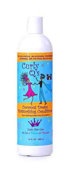 Curly Q's Coconut Dream Moisturizing Conditioner