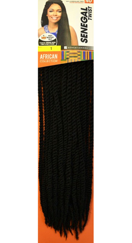 "Sensationnel Senegal Twist ""40 Crochet"